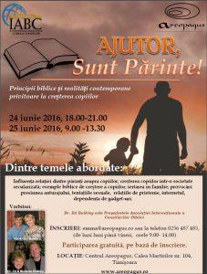 AJUTOR, Sunt Parinte! - Conferinta Centrul Areopagus @ Centrul Areopagus Timisoara | Timișoara | Județul Timiș | România