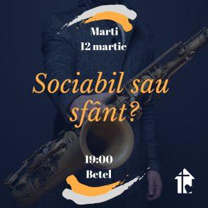 SOCIABIL sau SFANT?